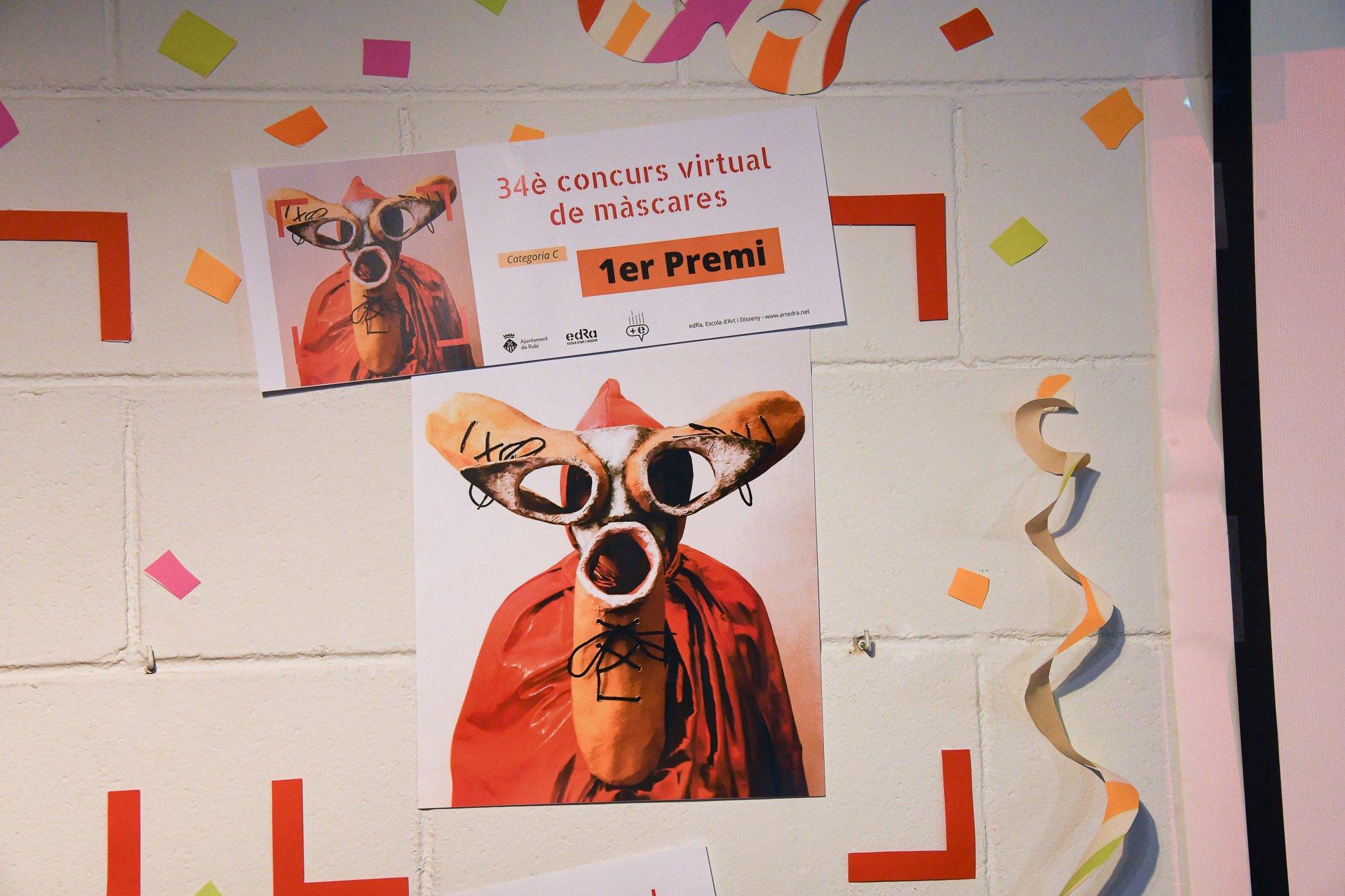 concurs de mascares de carnaval