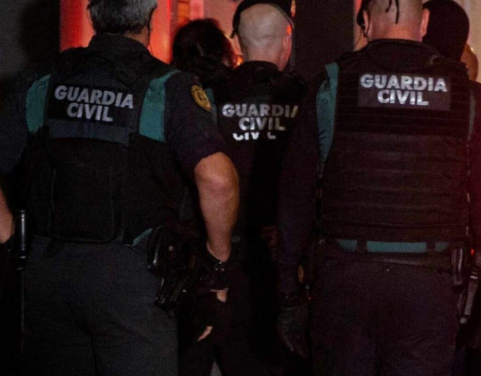 guardia civil al pinar