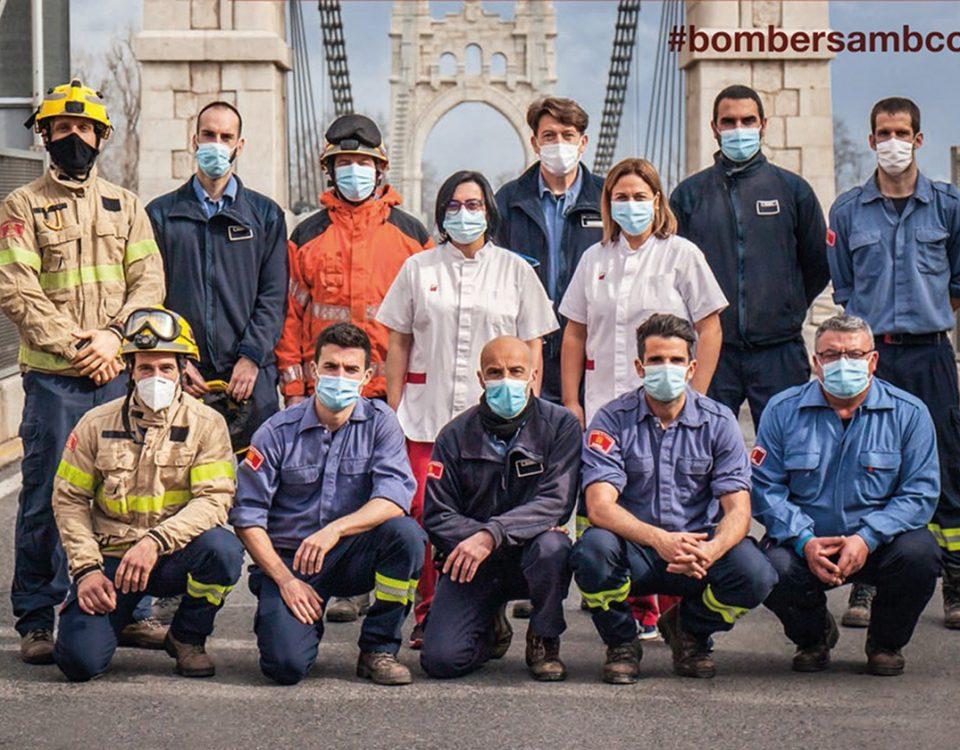 bombers donació de sang