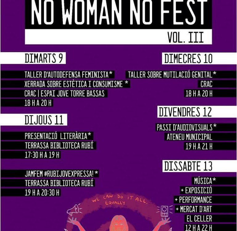 no woman no fest