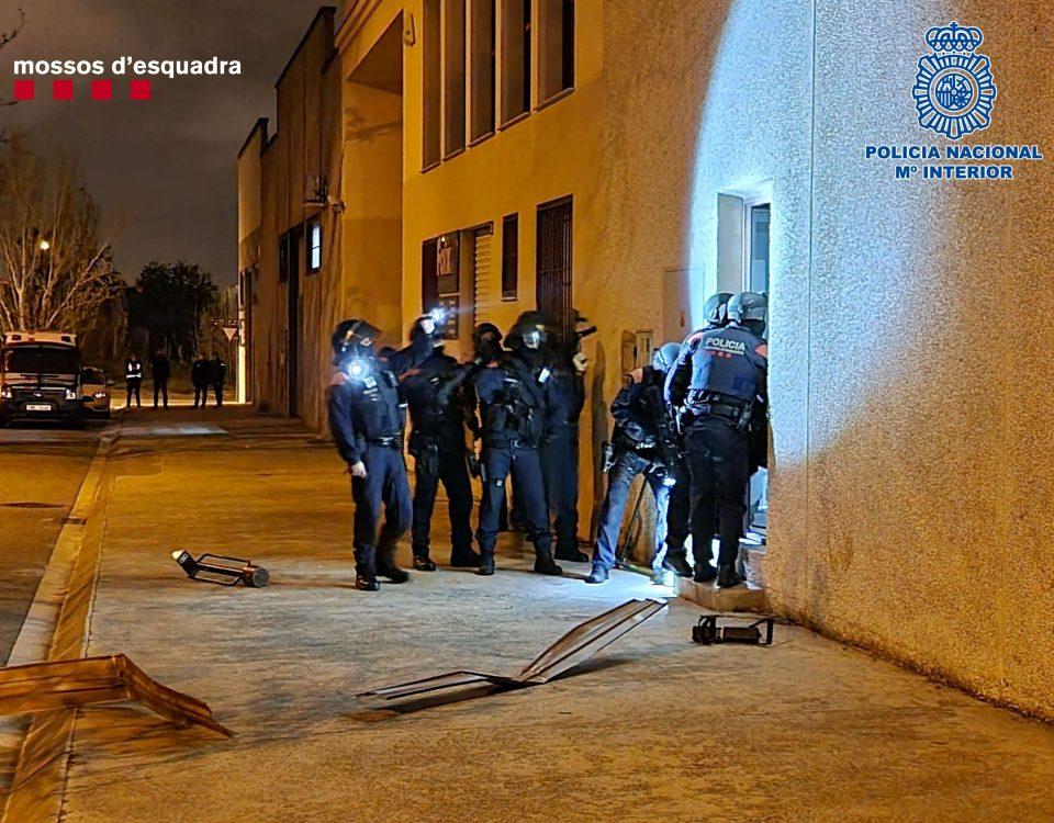 mossos policia nacional