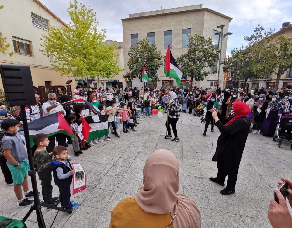 manifestació palestina