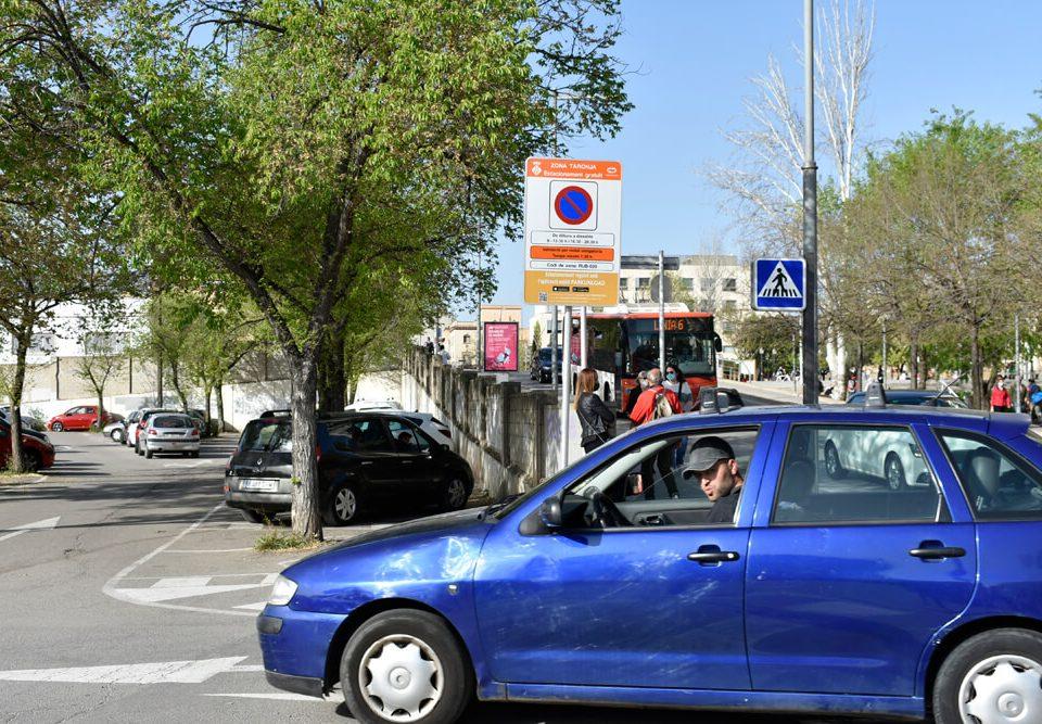zona taronja aparcament