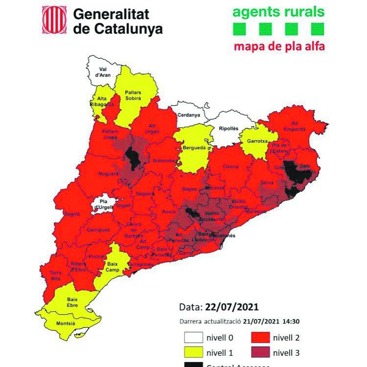 mapa risc incendi