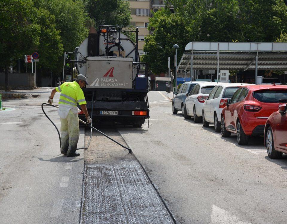Millora asfalt calçades Rubí