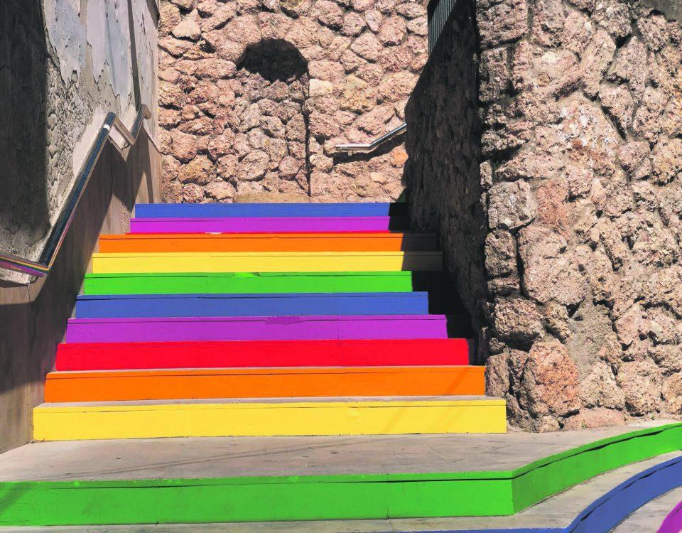 Escales pintades