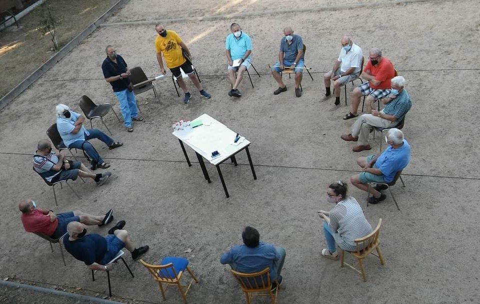 Reunió urbanitzacions Sant Jordi Parc i Can Fatjó