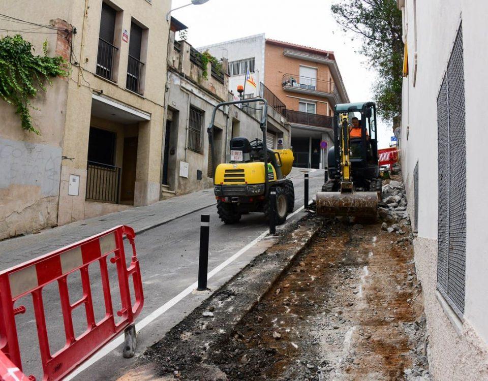 obres carrer Magallanes